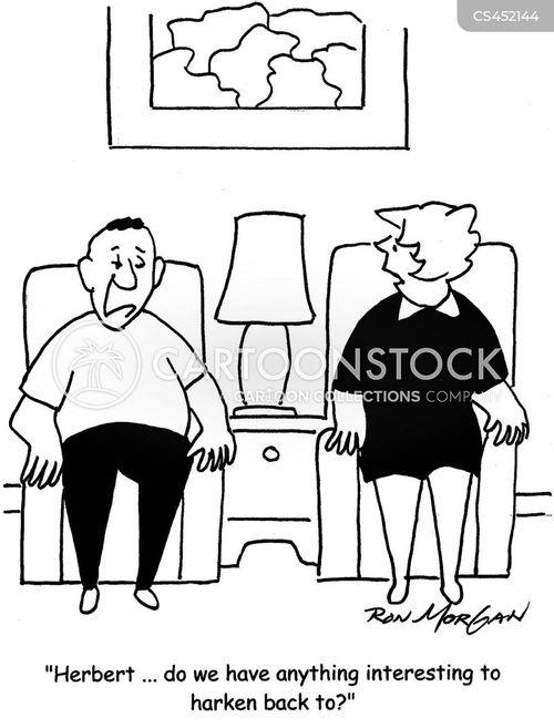 empty nester cartoon