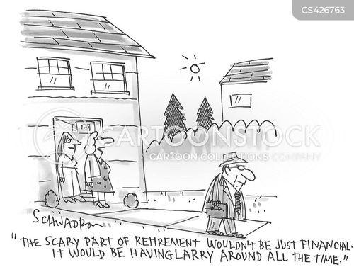 later life cartoon