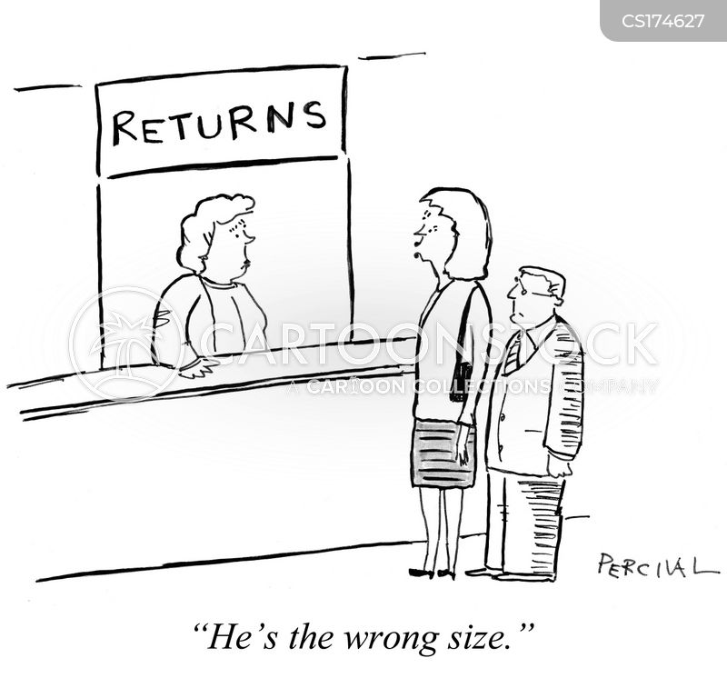 returns policies cartoons and comics   funny pictures from