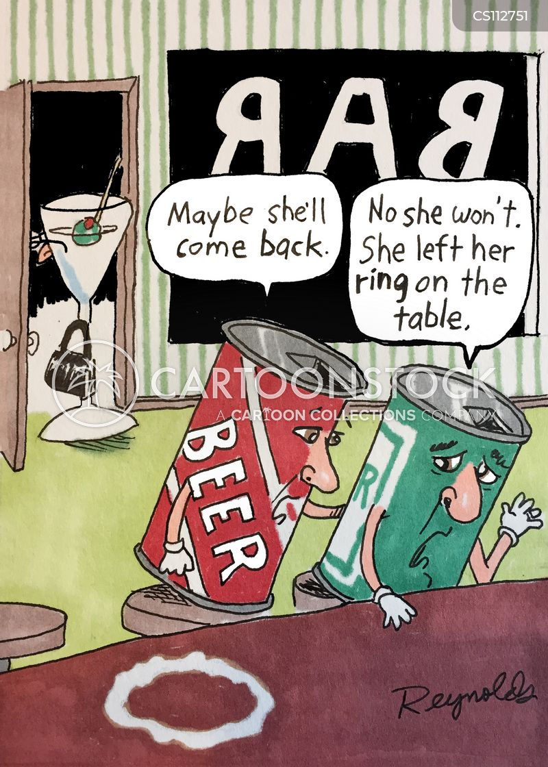 ring on the table cartoon