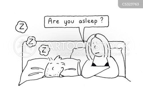 snoozed cartoon