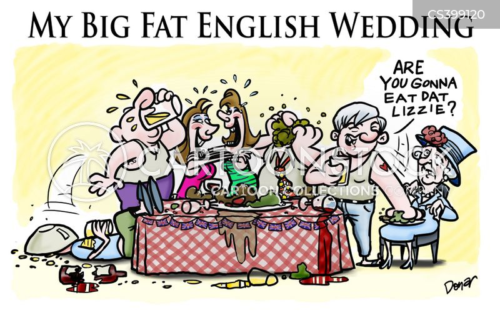 royal weddings cartoon