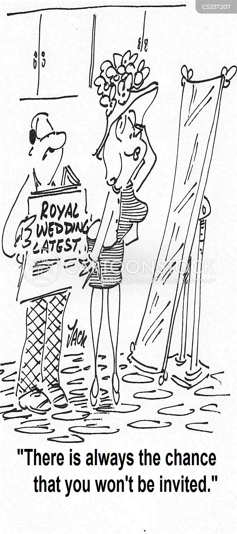 royal marriages cartoon