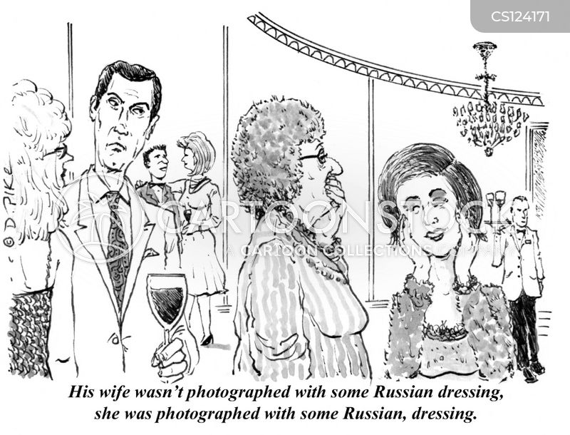 Russian Dressings cartoons, Russian Dressings cartoon, funny, Russian Dressings picture, Russian Dressings pictures, Russian Dressings image, Russian Dressings images, Russian Dressings illustration, Russian Dressings illustrations