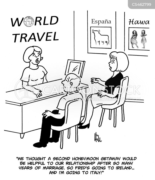 world travel cartoon
