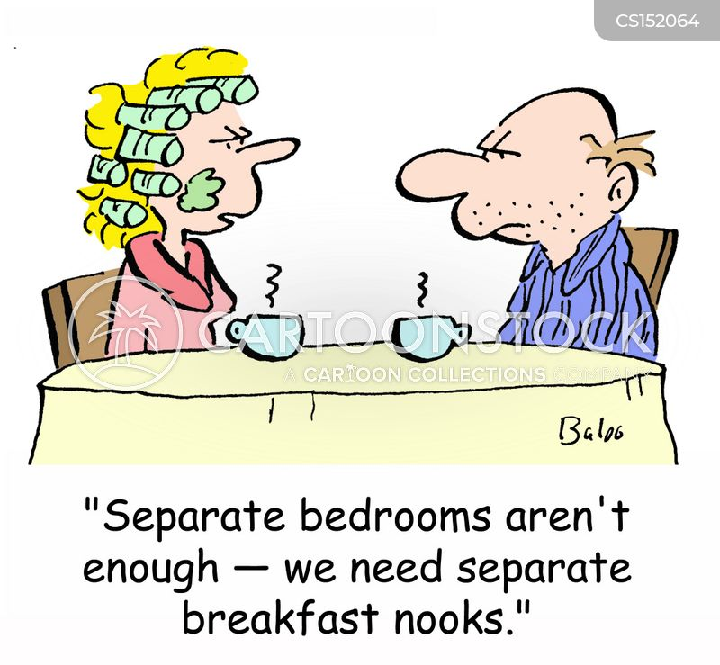 separate bedrooms cartoons and comics funny pictures from cartoonstock
