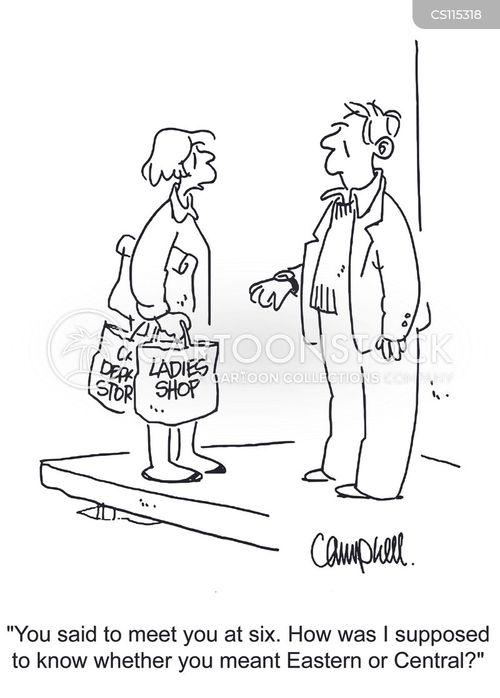 shopping sprees cartoon