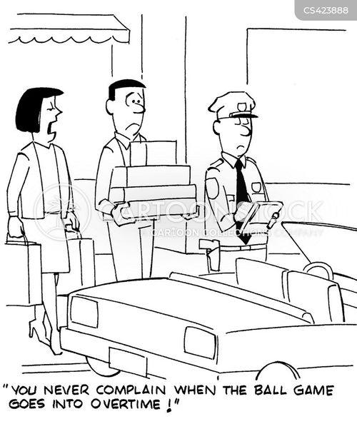 parking violations cartoon