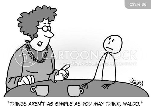 simple lives cartoon