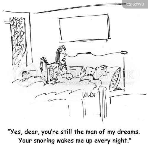 snorer cartoon