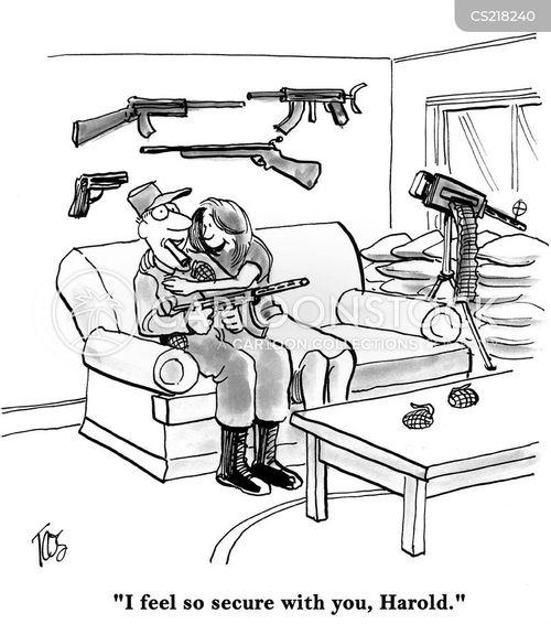 gun fire cartoon