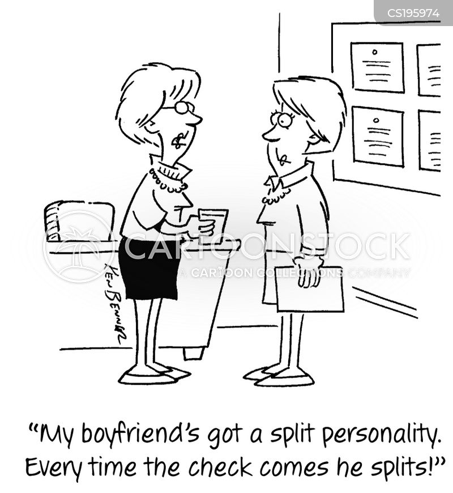 spending habit cartoon