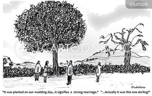 strong marriage cartoon