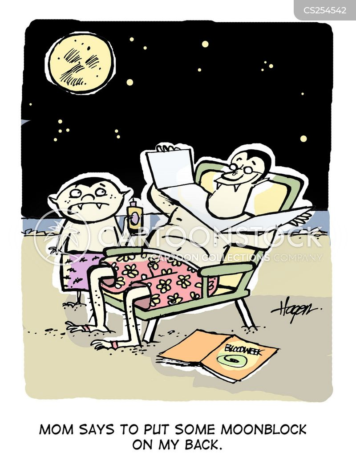 uv rays cartoon