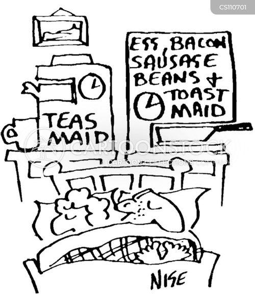 full english breakfast cartoon