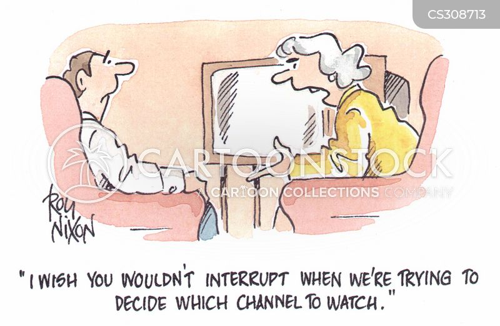 under the thumb cartoon