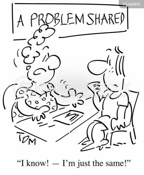 sympathetic ear cartoon