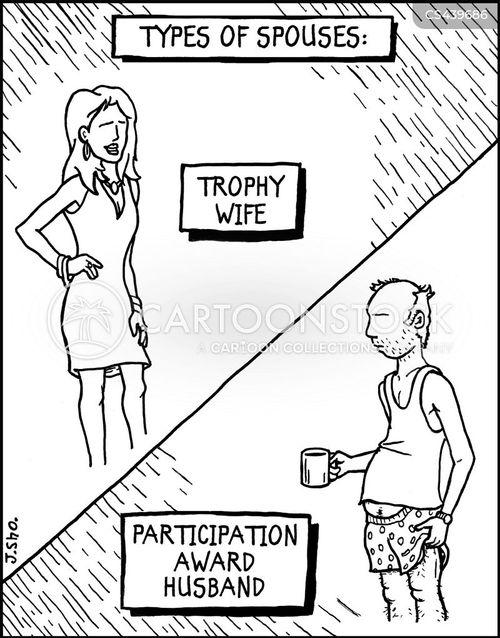 participation cartoon