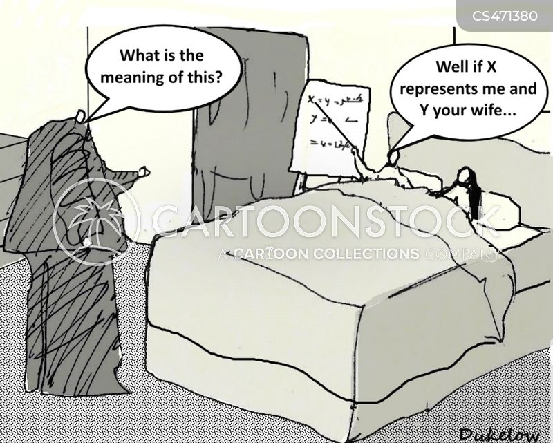 cheating spouse cartoon