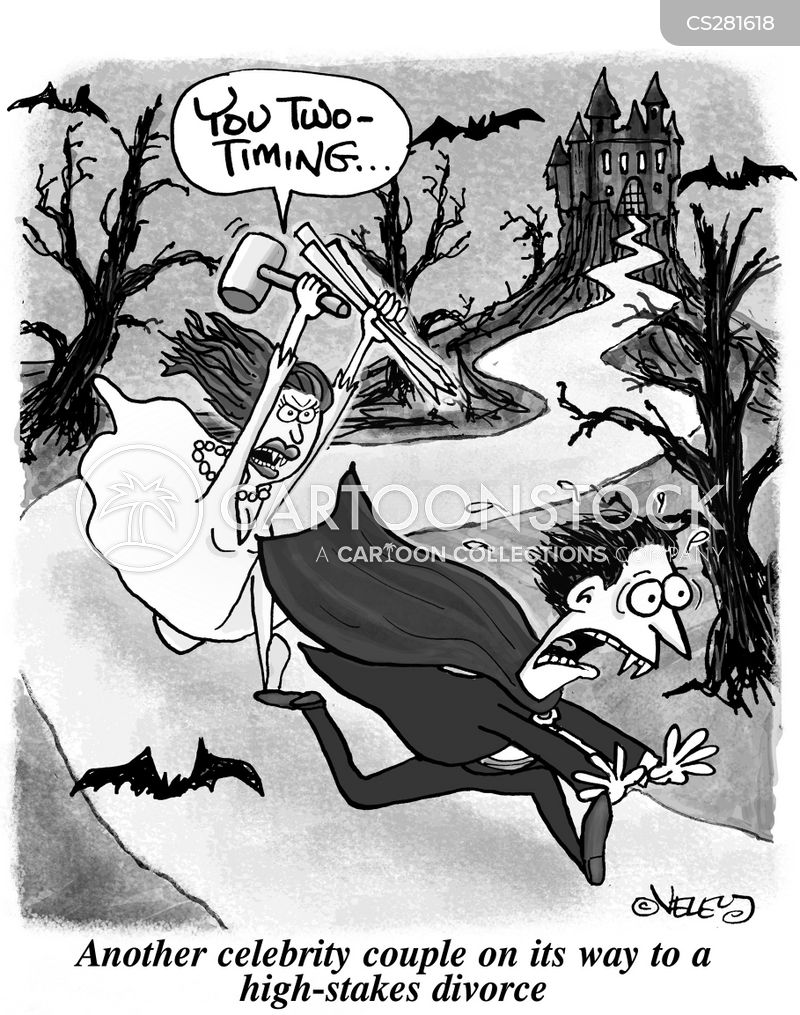 two-timing cartoon