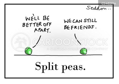 pea pods cartoon