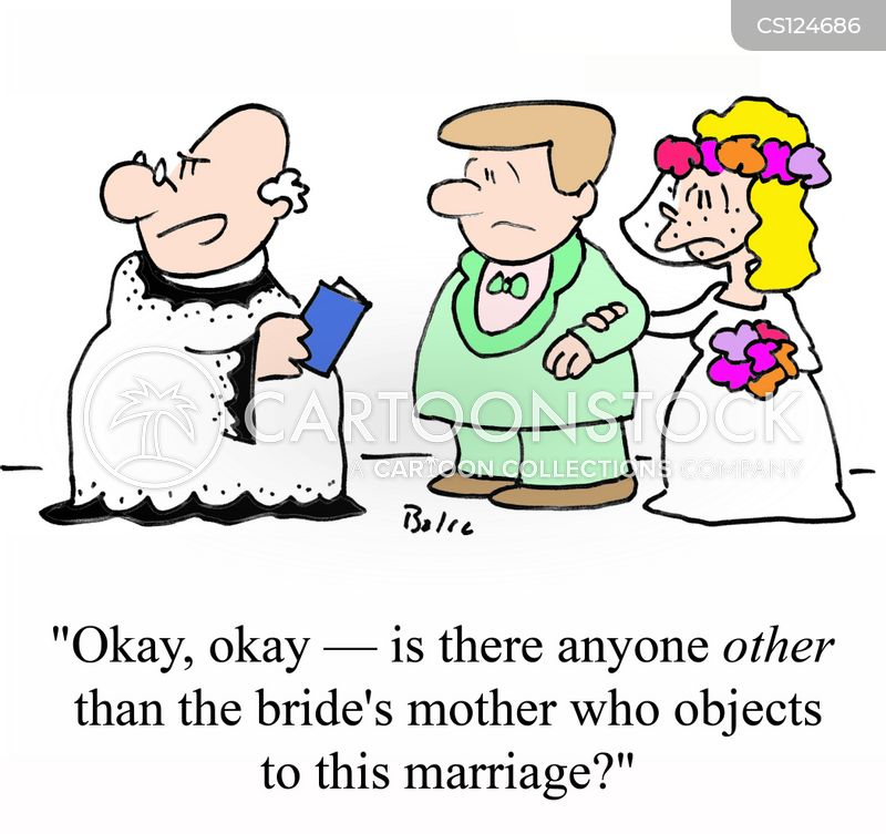 Bride Groom Cartoons And Comics Funny Pictures From Cartoonstock