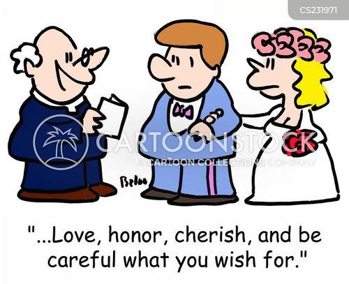 marital advise cartoon