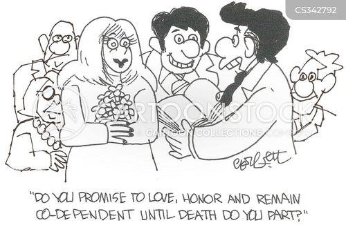 co-dependent cartoon