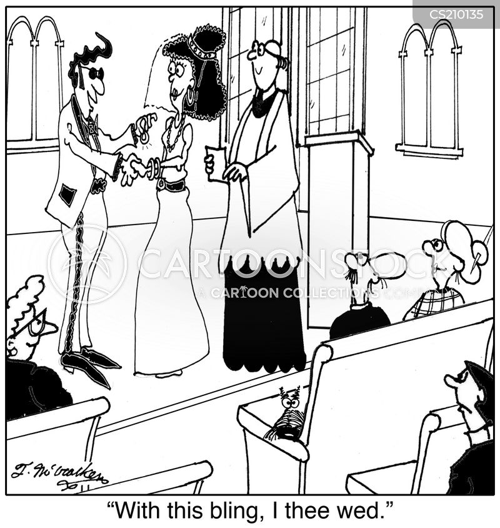 wedding rings cartoon