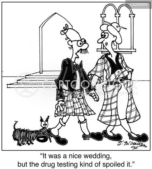 urine test cartoon