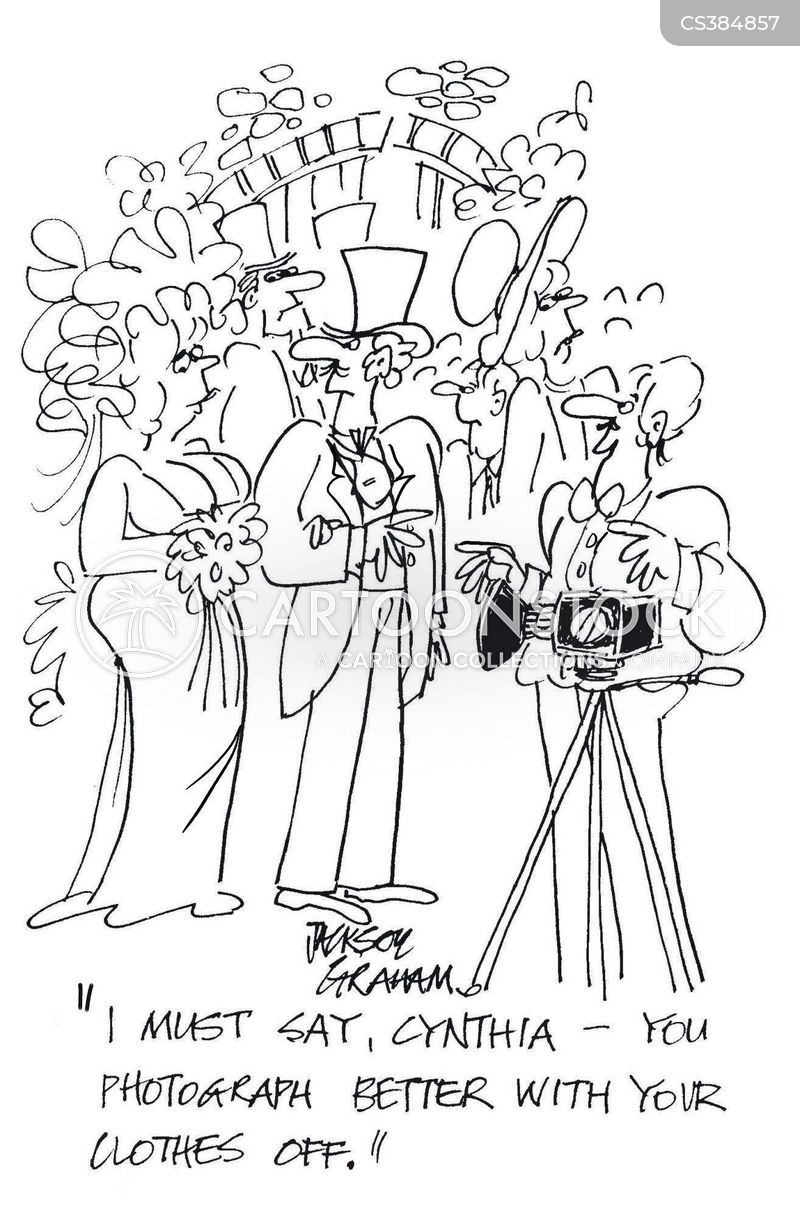 wedding photographers cartoon