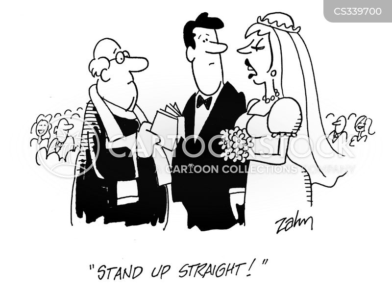 unhappily married cartoon