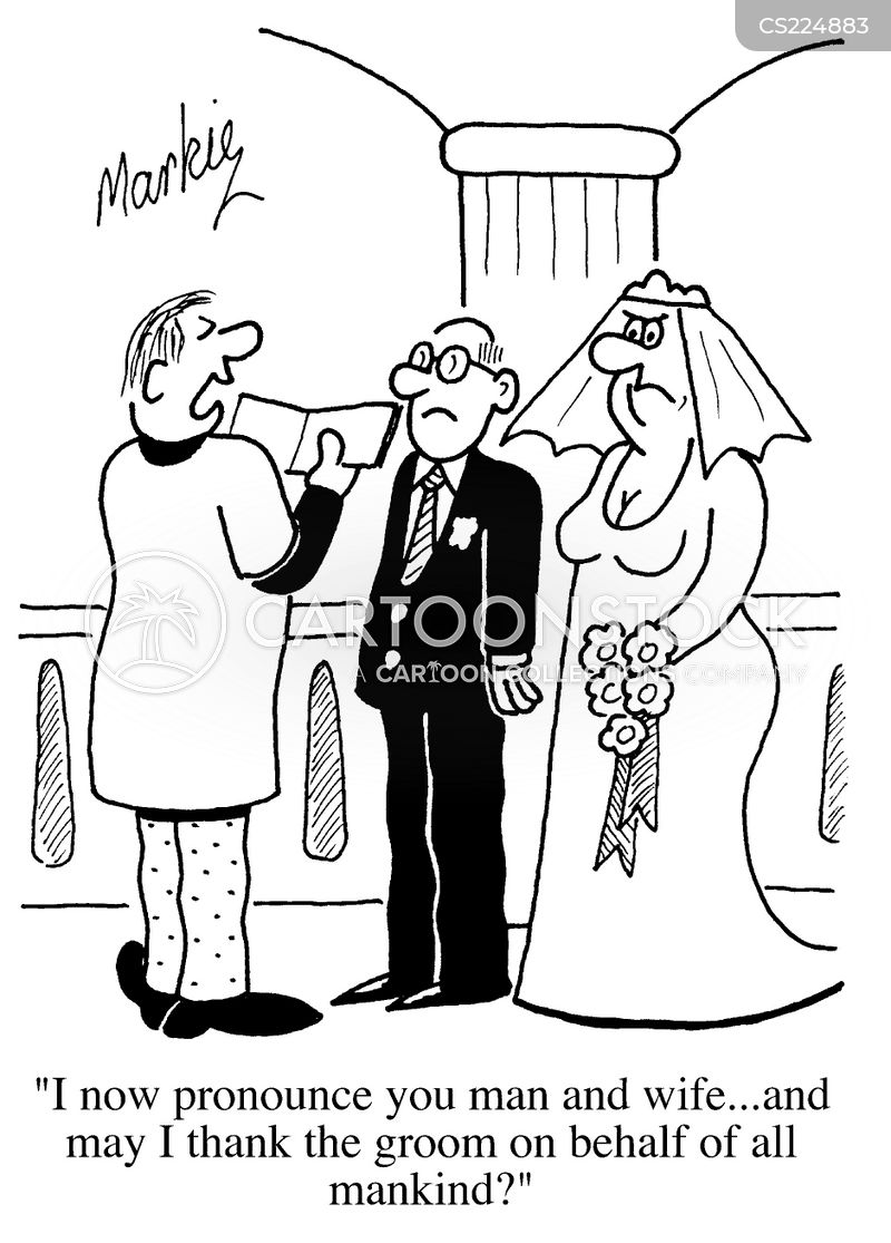 Ugly Bride Cartoons And Comics Funny Pictures From Cartoonstock