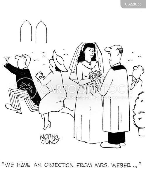objecting cartoon