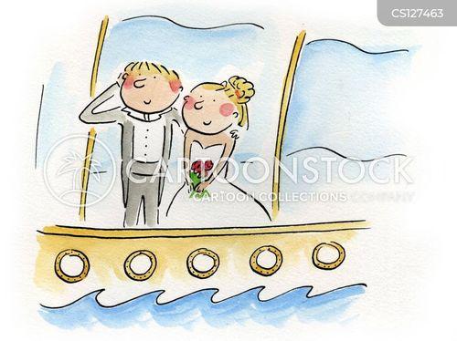 yacht cartoon