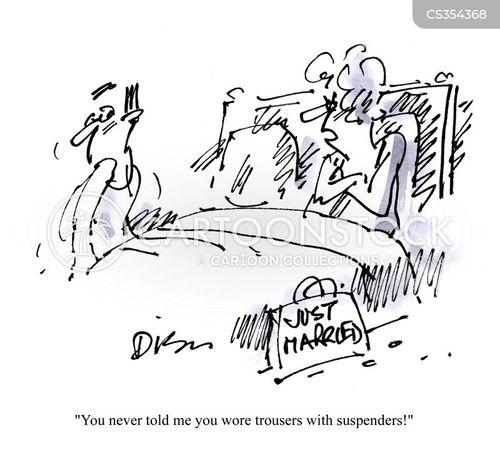 newly married cartoon