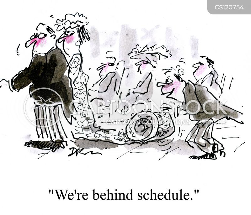 scheduled cartoon