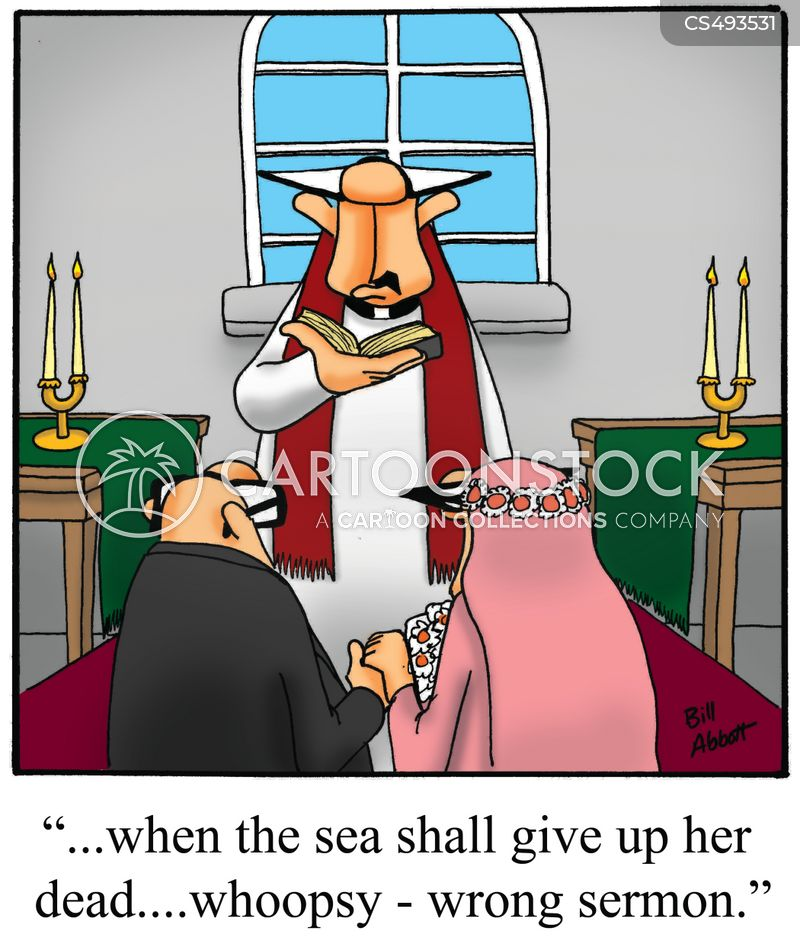 wedding services cartoon