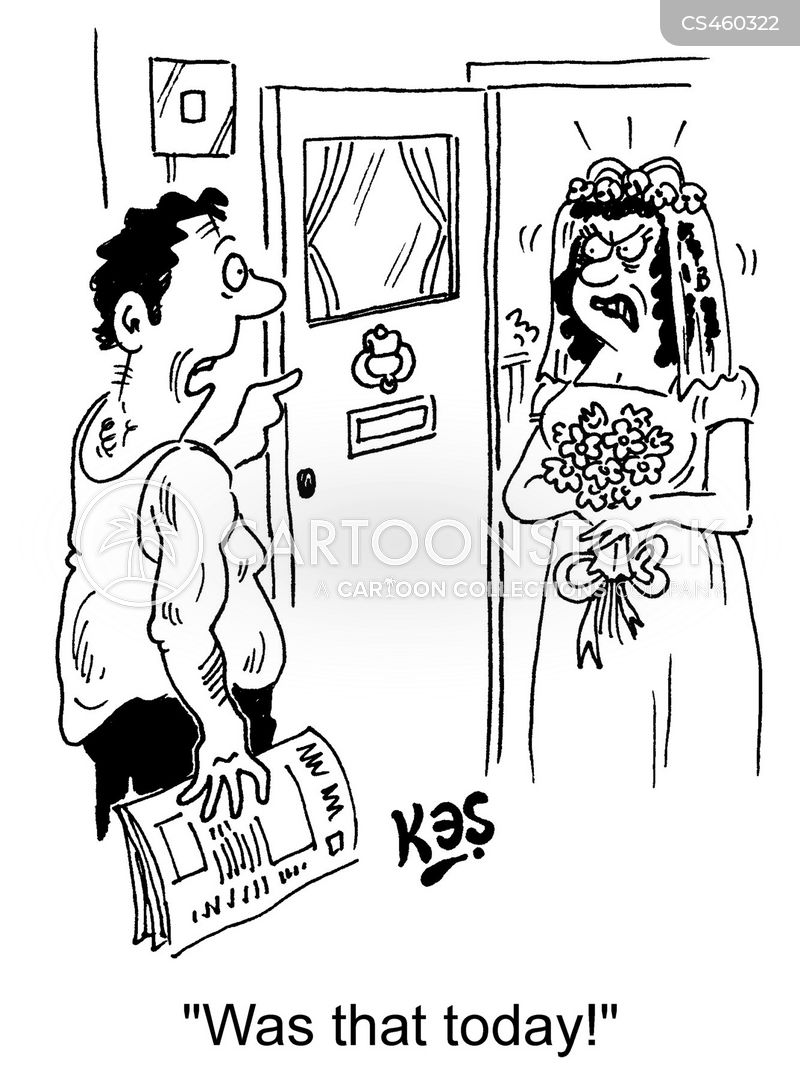 hitched. cartoon