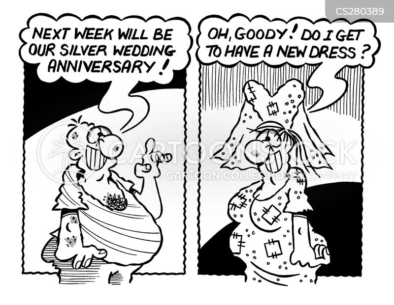 Silver Wedding Anniversaries Cartoons and Comics - funny pictures ...