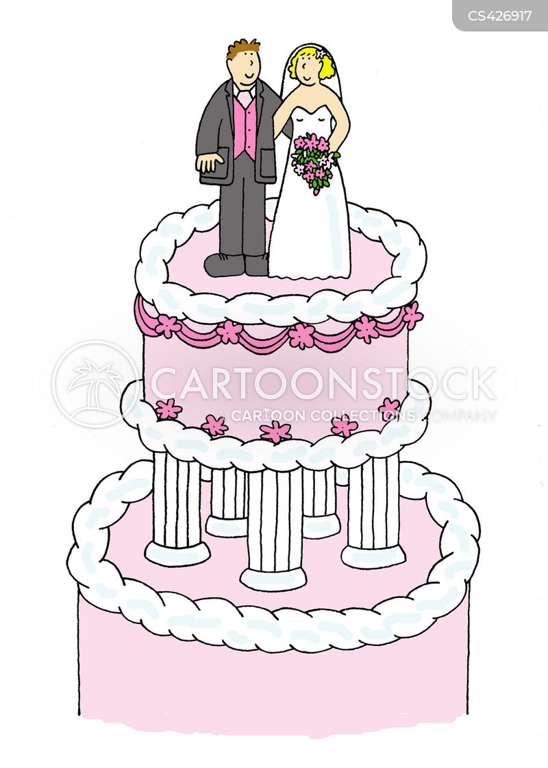 cartoon picture of a wedding cake wedding cake and comics pictures from 12418