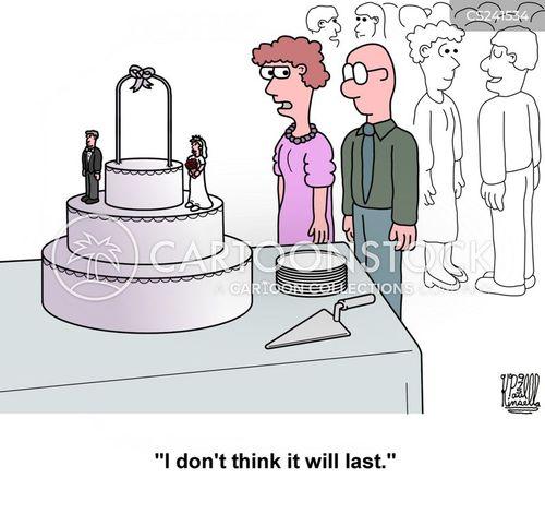 wedding party cartoon
