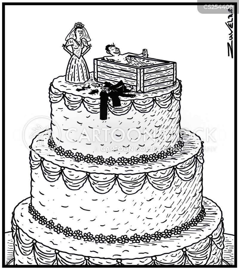 Wedding Cake Images Cartoon : Wedding Caked Cartoons and Comics - funny pictures from ...