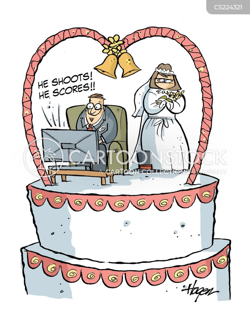 Wedding Cake Images Cartoon : Wedding Cake Cartoons and Comics - funny pictures from ...