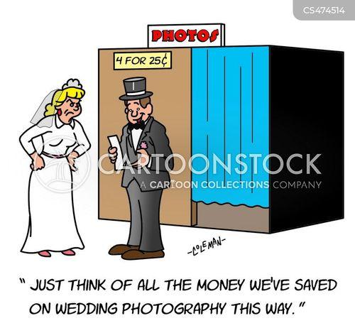 wedding photography cartoon