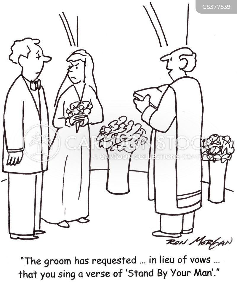 Wedding Marriage Cartoons And Comics