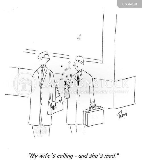 mad wives cartoon