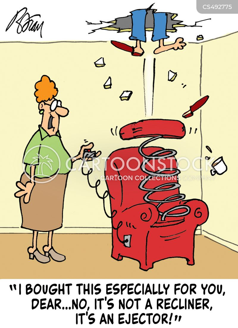 ejector chairs cartoon