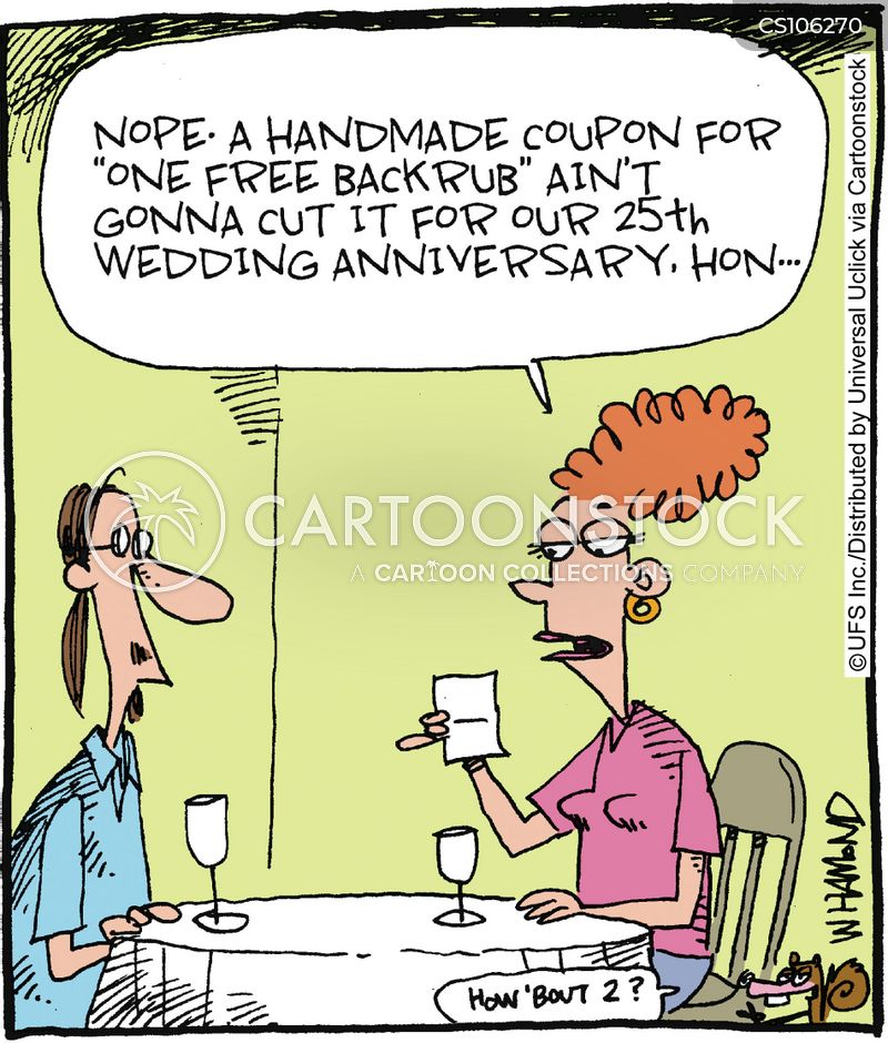 Funny Wedding Anniversary: Wedding Anniversary Cartoons And Comics