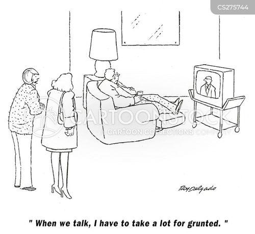 grunts cartoon
